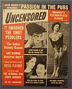 Uncensored  Magazine - February 1955 (Image1)