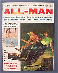 All-Man Magazine - June  1960 (Image1)