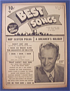 Best Songs Magazine - November 1949