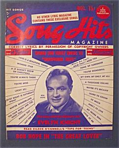 Song Hits Magazine - December 1949 - Bob Hope Cover (Image1)