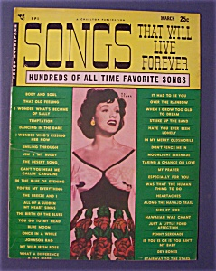 Songs That Will Live Forever - March 1950 - Kay Starr