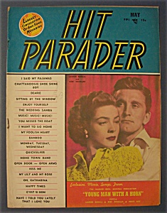 Hit Parader -may 1950- Lauren Bacall/kirk Douglas
