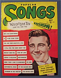 Popular Songs Magazine - May 1951 - Alan Dale