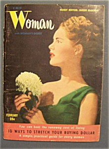 The  Woman  With  Woman's  Digest - February 1947 (Image1)