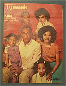 Tv Week - October 14-20, 1984 - The Cosby Show Cover