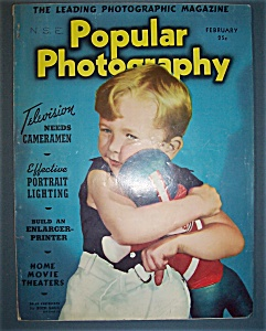 Popular Photography Magazine - February 1939