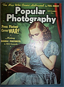 Popular Photography Magazine - November 1939