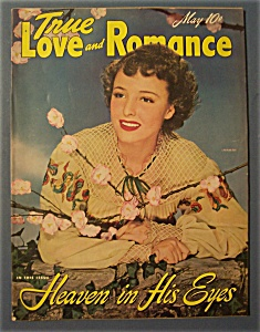 True Love And Romance Magazine-May 1942-Laraine Day (Image1)