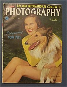 Vintage Popular Photography Magazine - April 1951 (Image1)
