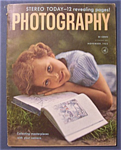 Vintage Popular Photography Magazine - November 1952