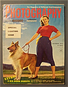 Vintage Popular Photography Magazine - October 1953
