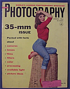 Popular Photography Magazine - August 1955