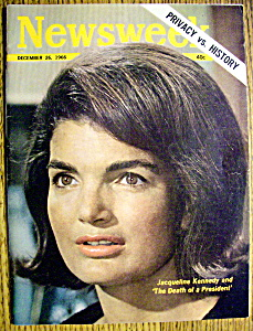 Newsweek Magazine-December 26, 1966-Jackie Kennedy (Image1)