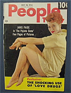 July 28, 1954- Janis Paige Cover (Image1)