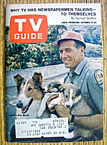 Tv Guide-october 17-23, 1964-lassie's New Master