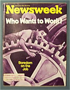 Newsweek Magazine - March  26,  1973 (Image1)
