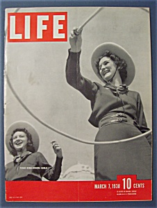 Life Magazine - March 7, 1938 -Texas High School Girls (Image1)