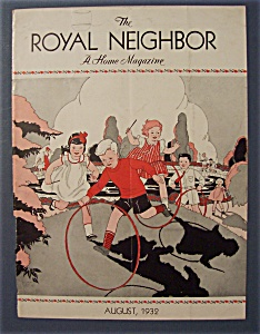 Royal Neighbor Cover By Esther Harmon - August 1932
