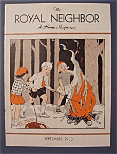 Royal Neighbor Cover By Margaret Daugherty-sept 1933