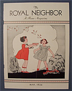 Royal Neighbor Cover By Esther Harmon - May 1934