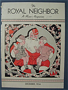 Royal Neighbor Cover By Esther Harmon - December 1934