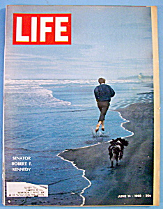 Life Magazine-june 14, 1968-robert F. Kennedy
