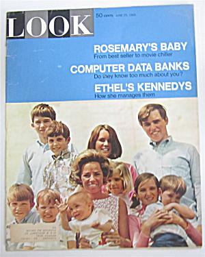 Look Magazine June  25, 1968 Ethel Kennedy (Image1)