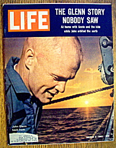 Life  Magazine-March 2, 1962-The John Glenn Story (Image1)