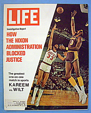 Life Magazine-March 24, 1972-Kareem vs. Wilt (Image1)