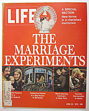 Life Magazine April 28, 1972 The Marriage Experiments (Image1)