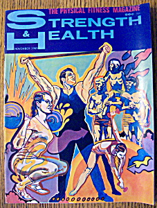 Strength & Health Magazine-november 1969-alvin Roy