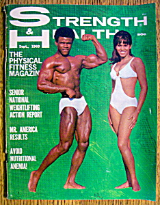 Strength & Health Magazine-september 1969-john Sprenkle