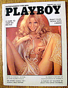 Vintage Playboy-February 1976-Laura Lyons (Image1)