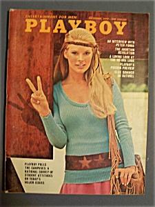 Vintage Playboy-September 1970-Debbie Elliston (Image1)