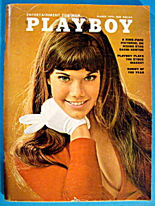 Playboy Magazine-march 1970-christine Koren