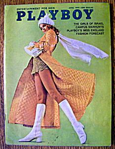 0f53673375ba Playboy Magazine-april 1970-barbara Hillary