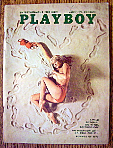 Playboy Magazine-August 1970-Sharon Olivia (Image1)