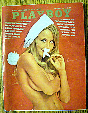 Playboy Magazine-december 1970-carol Imhot