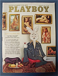 Vintage Playboy - January 1975 - Lynnda Kimball