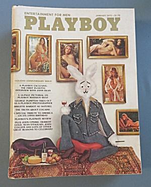 Vintage Playboy - January 1975 - Lynnda Kimball (Image1)