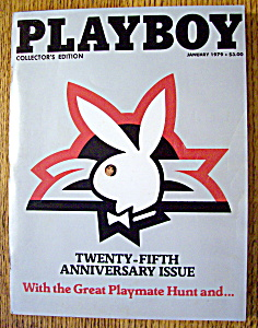 Playboy Magazine-january 1979-candy Loving