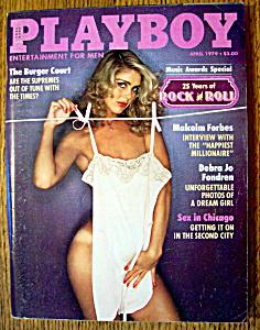 Vintage Playboy-April 1979-Missy Cleveland (Image1)