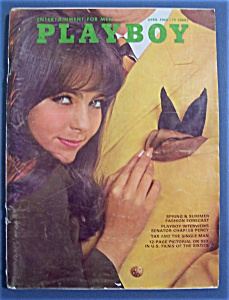 Playboy Magazine-april 1968-gaye Rennie