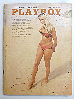 Playboy Magazine - June 1968 - Britt Fredriksen