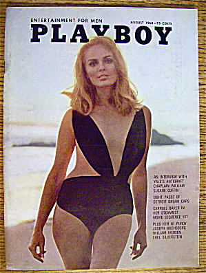 Playboy Magazine-August 1968-Gale Olson (Image1)