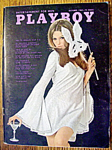 Playboy Magazine-october 1968-majken Haugedal