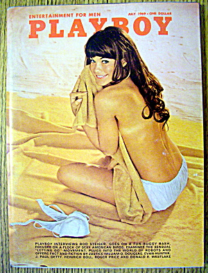 Playboy Magazine-July 1969-Nancy McNeil (Image1)