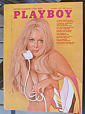 Playboy Magazine-October 1969-Jean Bell (Image1)