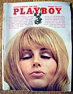 Playboy Magazine-December 1969-Gloria Root (Image1)