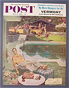 Saturday Evening Post Cover By Utz - July 22, 1961